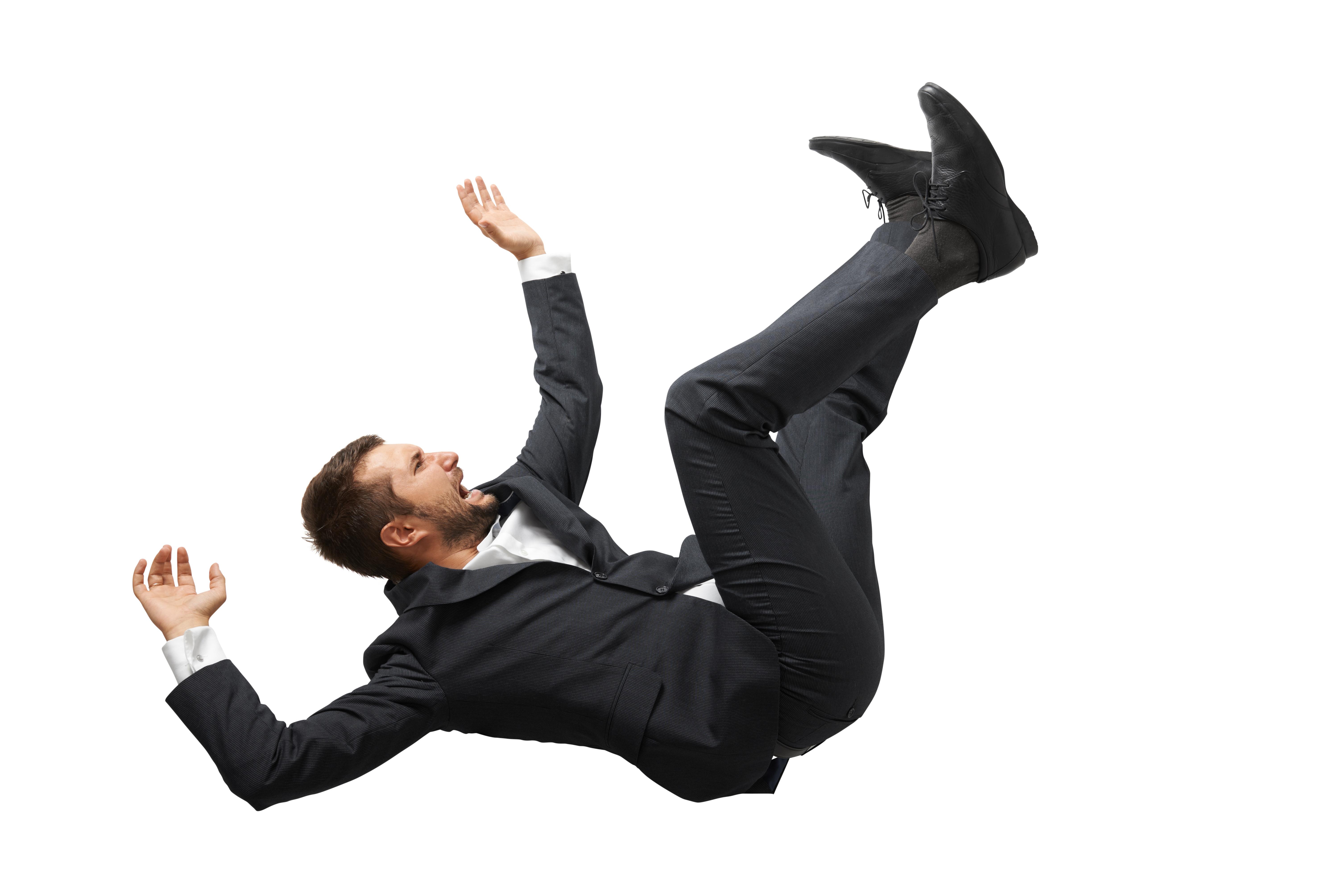 Падающий человек - это что такое падающий человек